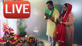 रवि किशन ने किया बप्पा का स्वागत Ravi Kishan Ganpati Celebration