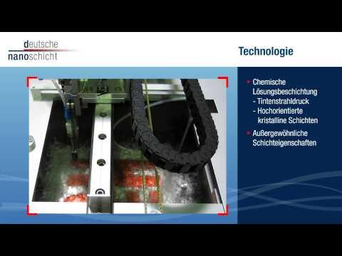 d-nano Deutsche Nanoschicht - Chemie trifft Energie 2015