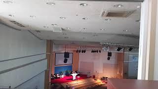 교회조명콘솔 점검 영상
