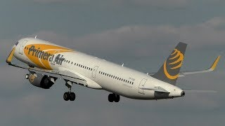 PRIMERA AIR TRIBUTE | Airbus A321NEO Departs Stansted Airport