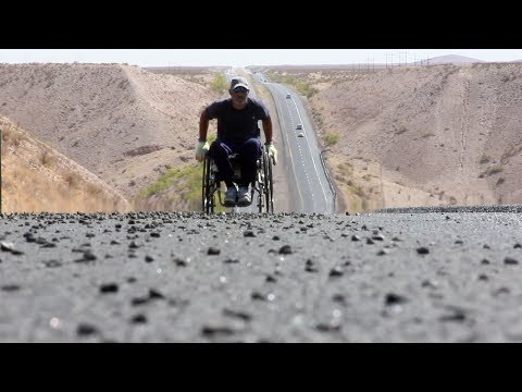 Harms - New Doc Shows Man Roll His Wheelchair From Santa Monica To New York