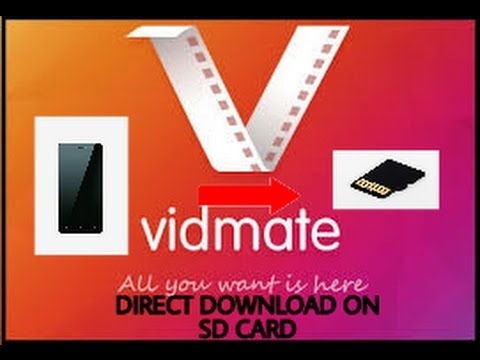 How to Directly download Vidmate videos on your Sd-card instead your  internal storage
