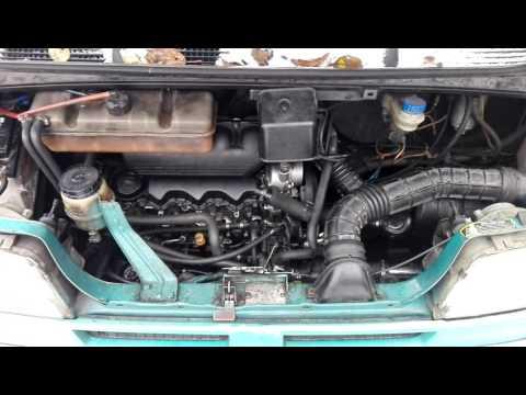 Citroen Jumper звук работы дизельного двигателя 2.5