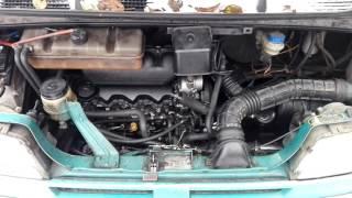 Citroen Jumper-звук работы дизельного двигателя 2.5