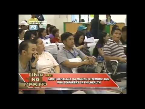 TINIG NG MARINO 123 - Bakit mahalaga na maging miyembro ang mga seafarers sa PHILHEALTH