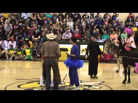 2013 Hilmar High Donkey Basketball