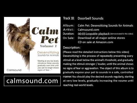 Door Bell Sound effect - Desensitizing Sounds for Dogs, Cats and other animals