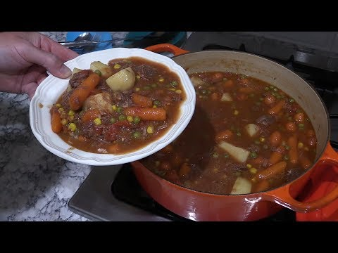 How To Make Homemade Beef Stew