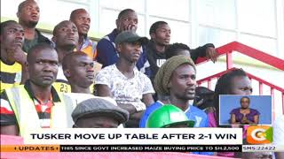 Tusker move up table after 2-1 win over Chemilil