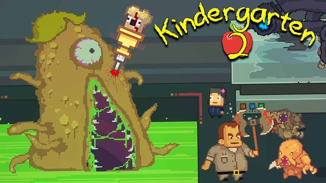 Nugget Doesn T Like Schools With Dark Secret Labs With Giant Alien Monsters Kindergarten 2 10 Youtube