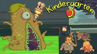NUGGET DOESN'T LIKE SCHOOLS WITH DARK SECRET LABS WITH GIANT ALIEN MONSTERS | Kindergarten 2 [10]