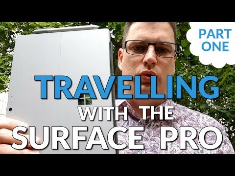 Be a Surface Pro! Business Travel with Surface Pro Part 1