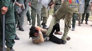 vendor killed as protesters clash with police មន ស សស ល ប ម ន ក ព លប ល ស