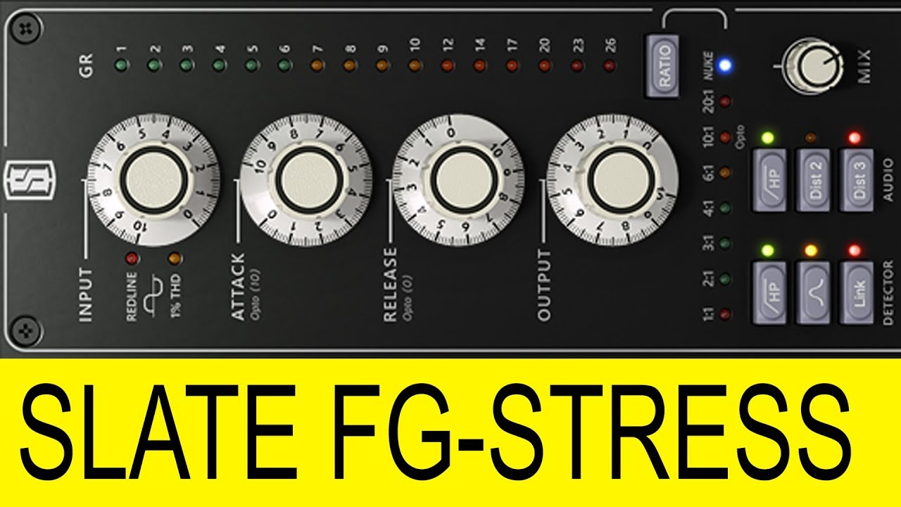 Slate FG-Stress Distressor Plugin First Impressions