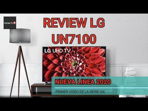 LG UN7100 Smart TV UHD 4k línea de TV 2020: Review en Español