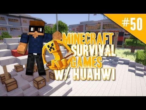 Minecraft Survival Games w/ Huahwi #50: Kosmish!