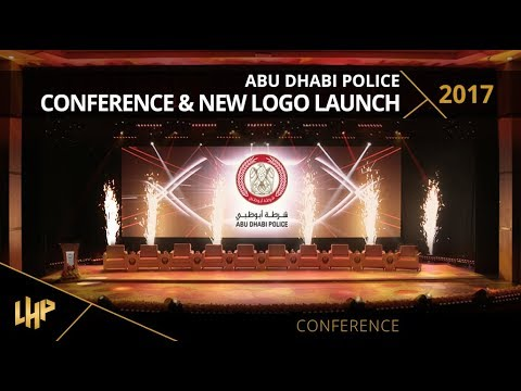 Abu Dhabi Police Conference & New Logo Launch 2017