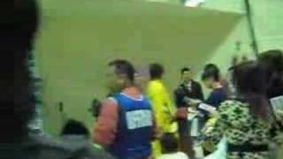 JBL オールスターゲーム2007-2008 ファンイベントでの五十嵐圭選手で...
