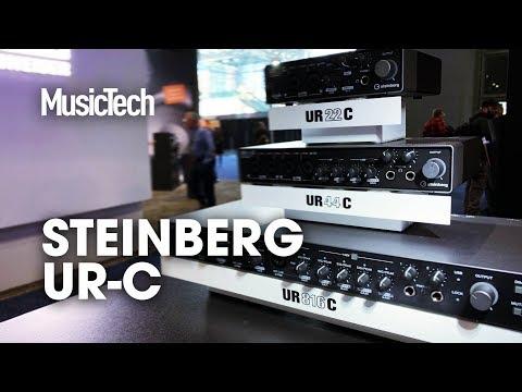 192k/32-bit Interfaces From Under $200 - Steinberg's New UR-C Series