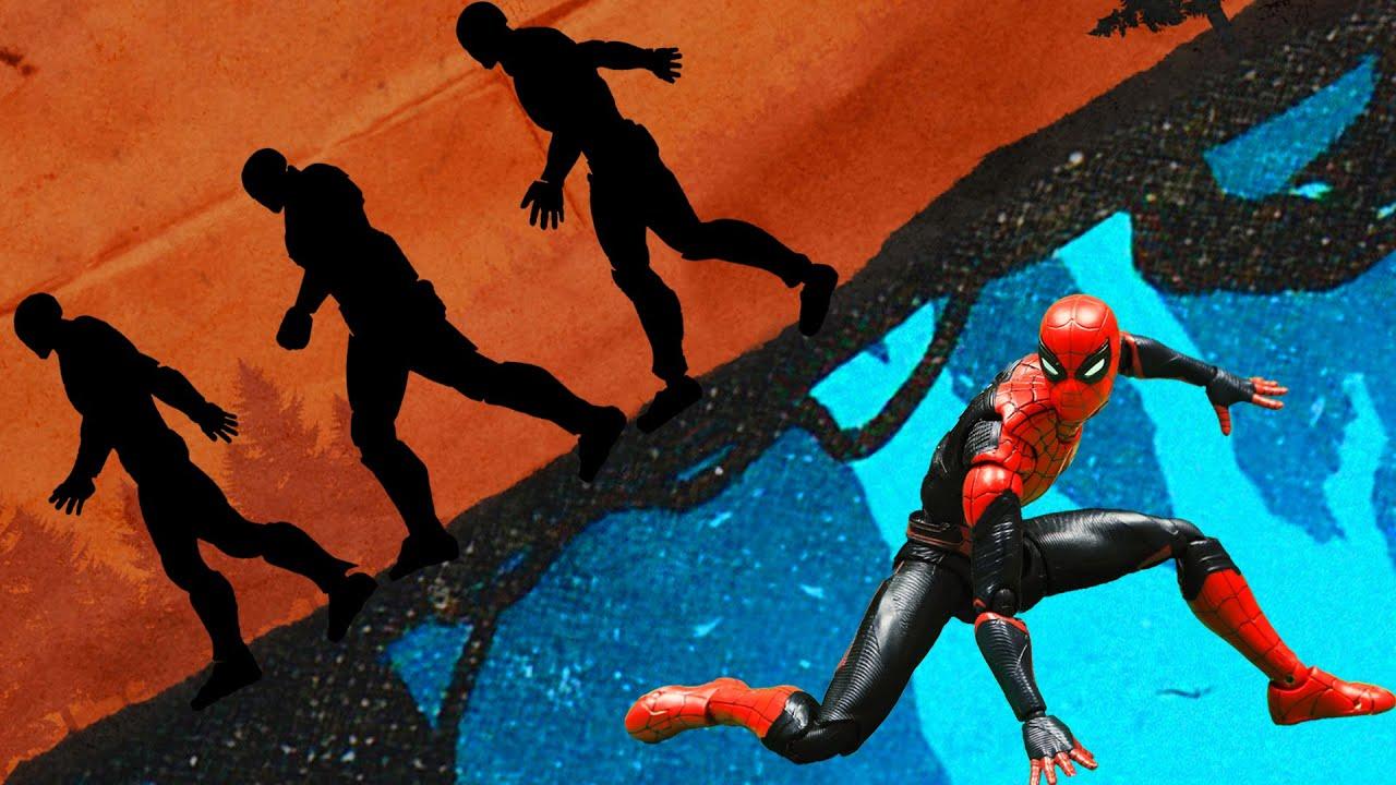 Spider-man vs Ironman Nendoroid Stealing Iron Man's Armor   Official Trailer