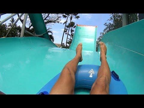 Boomerang Water Slide at Waterbom Bali