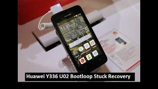 Flashing Huawei Y336 U02 Mentok Logo Bootloop recovery