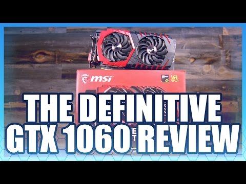 NVIDIA GTX 1060 Review vs. RX 480, 1070, 1080
