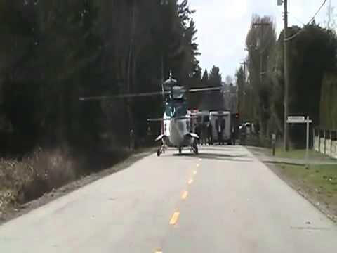 Medevac Helicopter Accident ( Helicopter Crash )