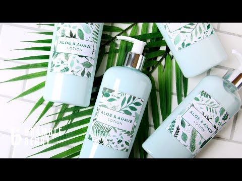 Anne-Marie Makes Aloe & Agave Lotion