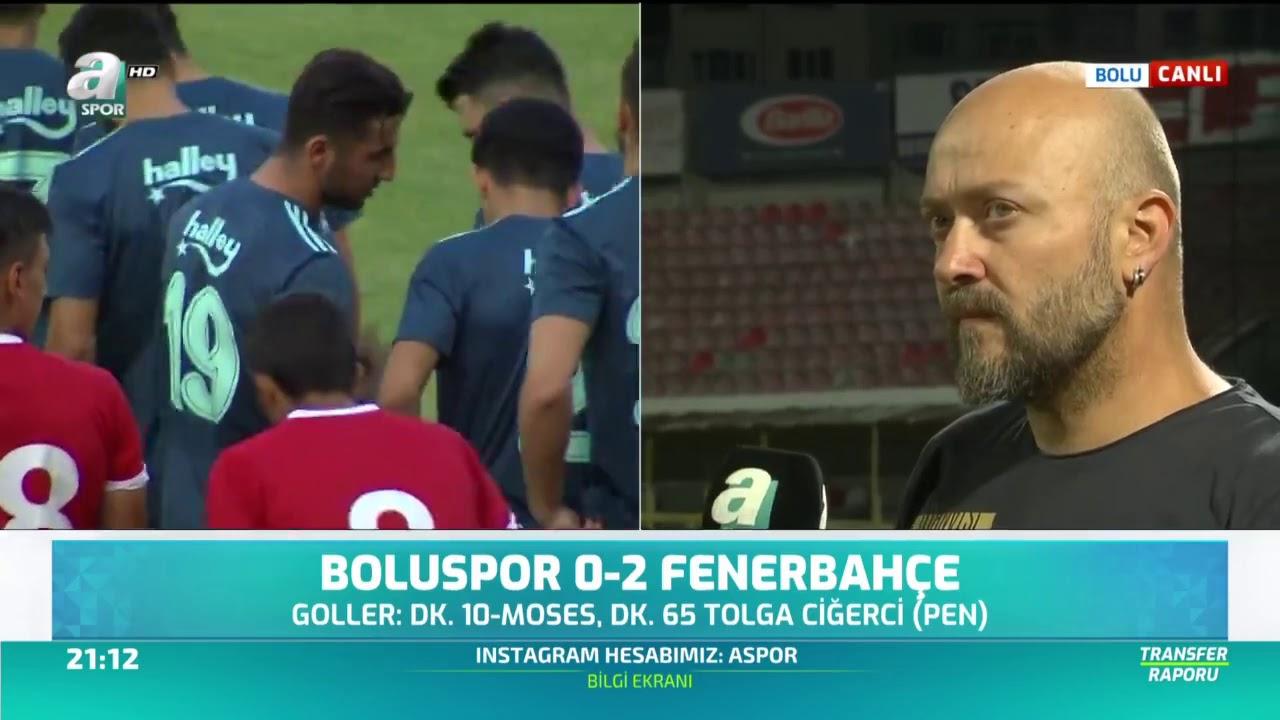 Boluspor 0-2 Fenerbahçe yorumu: Abdülcebrail mest etti