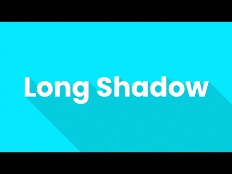 Flat Long Shadow Using CSS & Vanilla Javascript   CSS Text Shadow