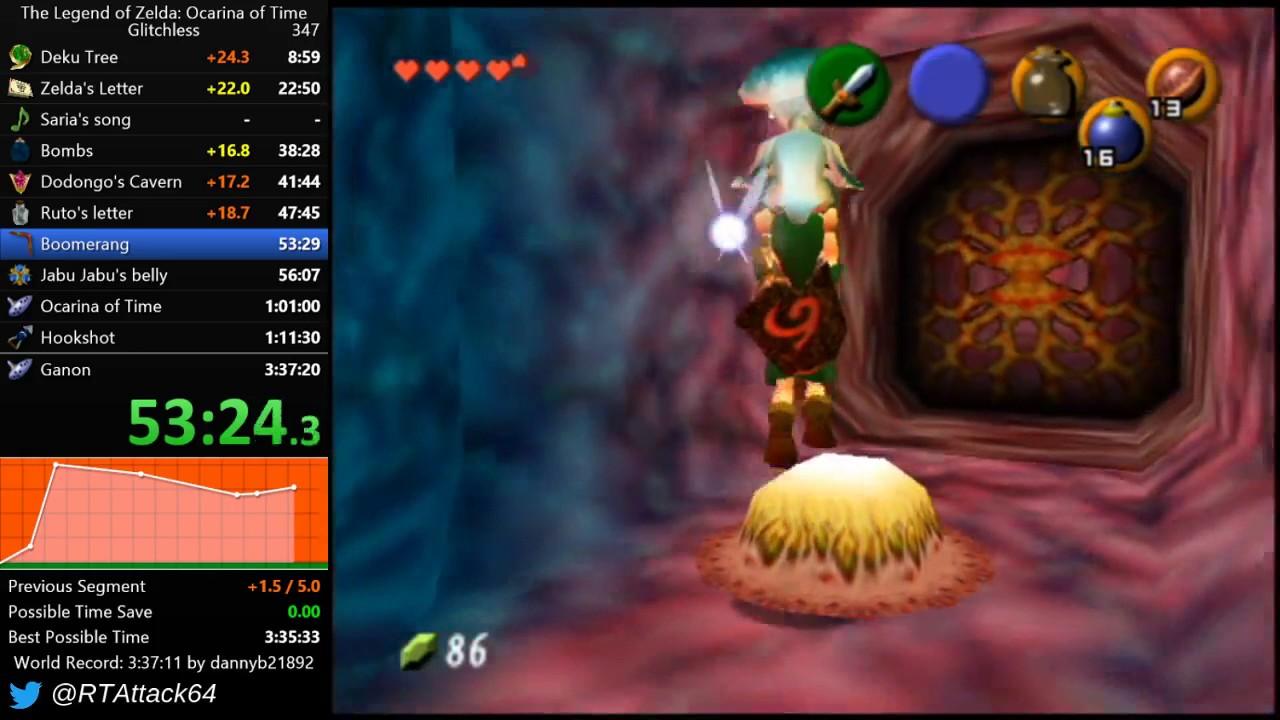 The Legend of Zelda: Ocarina of Time - Inside Jabu-Jabu's