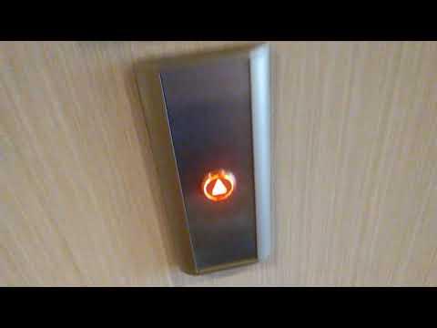 2015 KONE EcoDisc Traction Elevators at Hampton Inn, Amesbury, MA Take 4