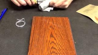 Burn-in Stick Wood Grain By Finish Repair 1122012.mp4