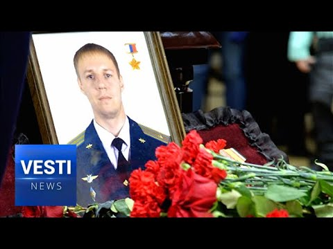 Hero Pilot of Russia Buried in Voronezh - Thousand of Compatriots Come to Pay Their Respects