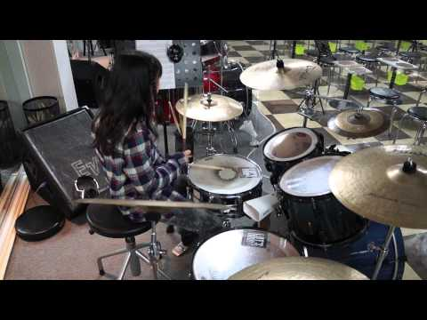 AOA - Get out  drum cover