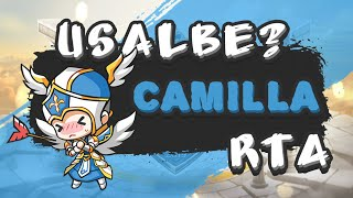 Camilla In RTA 2019 Still can be a Good Choice with Rune Detail at the End 水瓦实时竞技场带符文