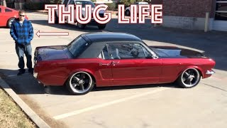 1965 Mustang Crash - 2JZ-GTE Engine Conversion - The 65 Mustang is Alive!  - Supra Engine Swap