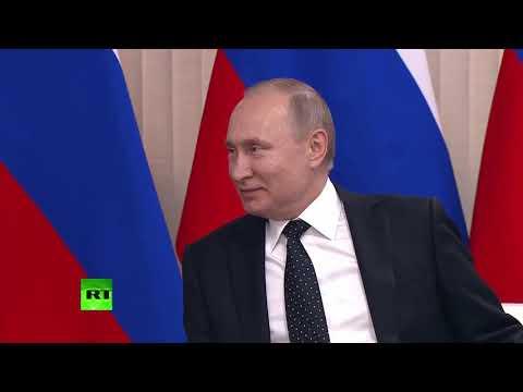 لقاء يجمع الرئيس الروسي والزعيم الكوري الشمالي