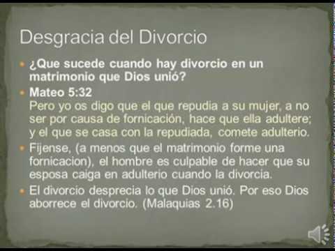 Matrimonio Segun Biblia : Divorcio y nuevo matrimonio que dice la biblia youtube