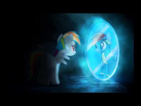 My Litle Pony Rainbow Dash And Super Rainbow Dash