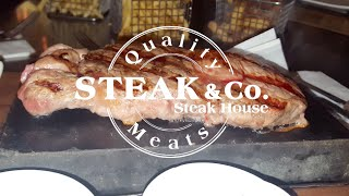Halal options at Steak & Co. Leicester Square
