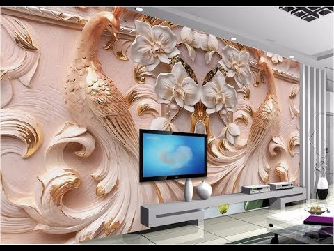 3d Wallpaper For Wallhouseflathomeas Royal Decor Youtube