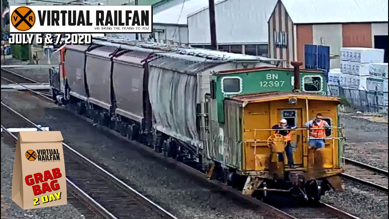 TWO DAY GRAB BAG FROM VIRTUAL RAILFAN! July 6th & 7th, 2020
