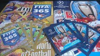 POJEDYNEK PANINI FIFA 365 2018 VS TOPPS CHAMPIONS LEAGUE 17/18 KTÓRE LEPSZE?
