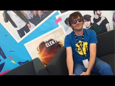 Interview d'RV de General Elektriks aux Concerts de la Région 2016