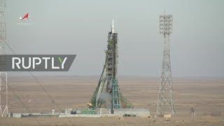 LIVE: Follow Expedition 58/59 crew on day of space launch at Baikonur Cosmodrome