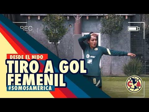 Tiro a gol - Club América Femenil