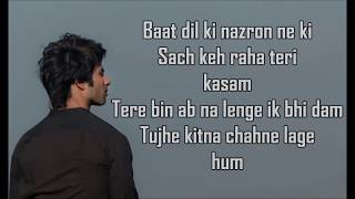 Tujhe Kitna Chahne Lage is a Soft Love Song from Kabir Singh sung by Arijit Singh, composed by Mithoon with lyrics written by Mithoon. The music video of ...