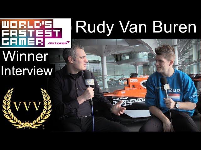 WFG Finals: Rudy Van Buren Interview